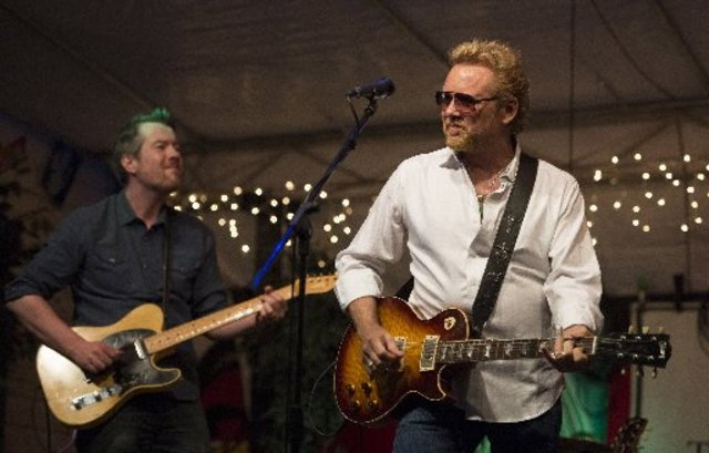 Two-time Grammy nominated song writer and country blues musician Lee Roy Parnell performed May 16 at Terra Fermata in Stuart. (HOBIE HILER/ SPECIAL TO TREASURE COAST NEWSPAPERS)