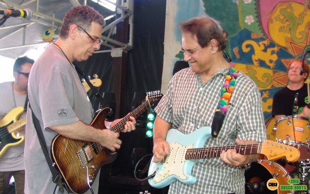 Al Zilinsky (left) and John Zias (right) from Unlimited Devotion, a Grateful Dead tribute band performing at Sertoma Youth Ranch in Brooksville earlier this year. (PROVIDED)